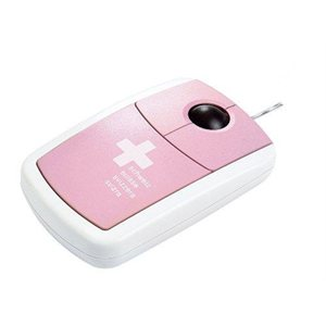 Pink Suisse Optical Mouse Pat Says Now