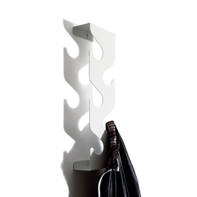 Wave Coat Rack-White