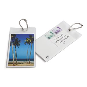 Postcard Luggage Tag-Beach