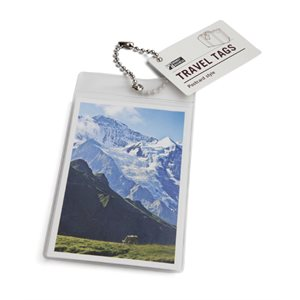 Postcard Luggage Tag-Mountains