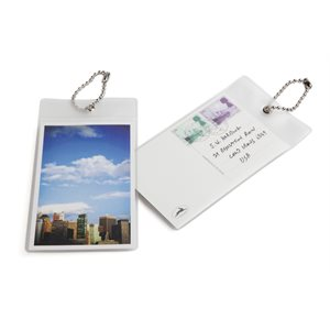 Postcard Luggage Tag-City
