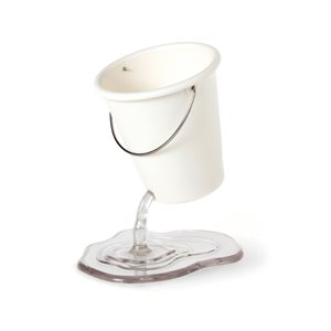 Desk Bucket-White