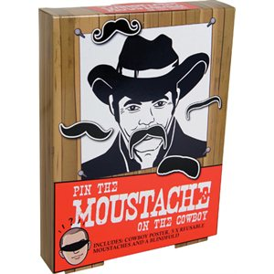 Pin the Moustache on the Cowboy
