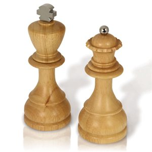 King and Queen Salt and Pepper Mills