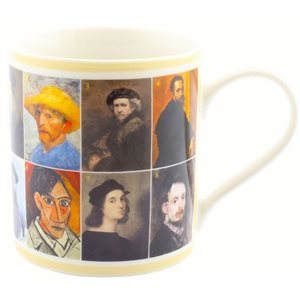Famous Artists in history mug