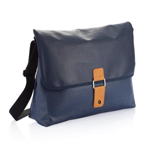 Pure Messenger Bag-Blue